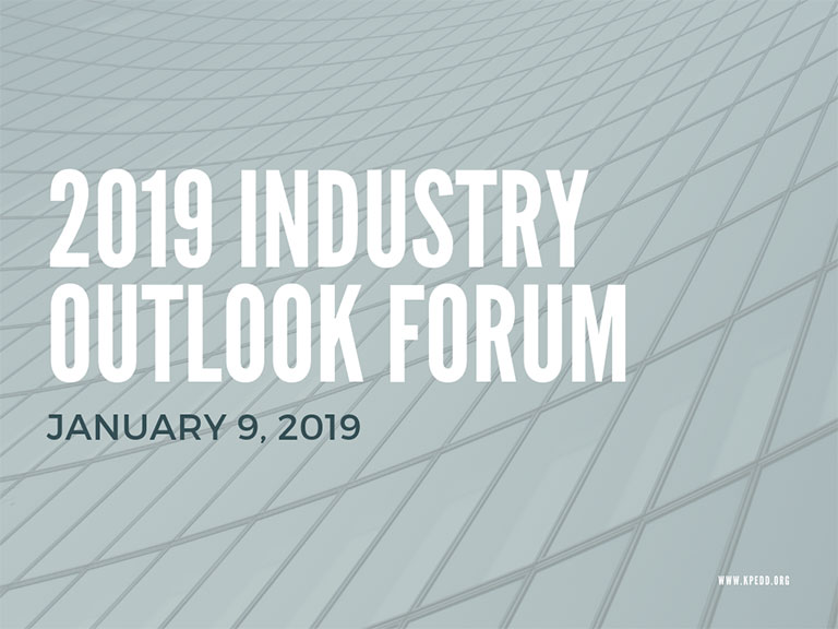 2019 Industry Outlook Forum Presentations